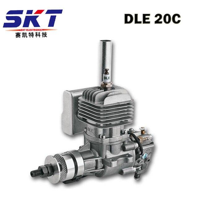 GTFDR Новый DLE бензиновый двигатель DLE20 для 20cc RC самолета хобби модель