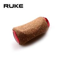 RUKE Fishing Reel Handle Knob Material Rubber Soft Wooden Knob for Daiwa Shimano Reel DIY Handle Accessory Free shipping