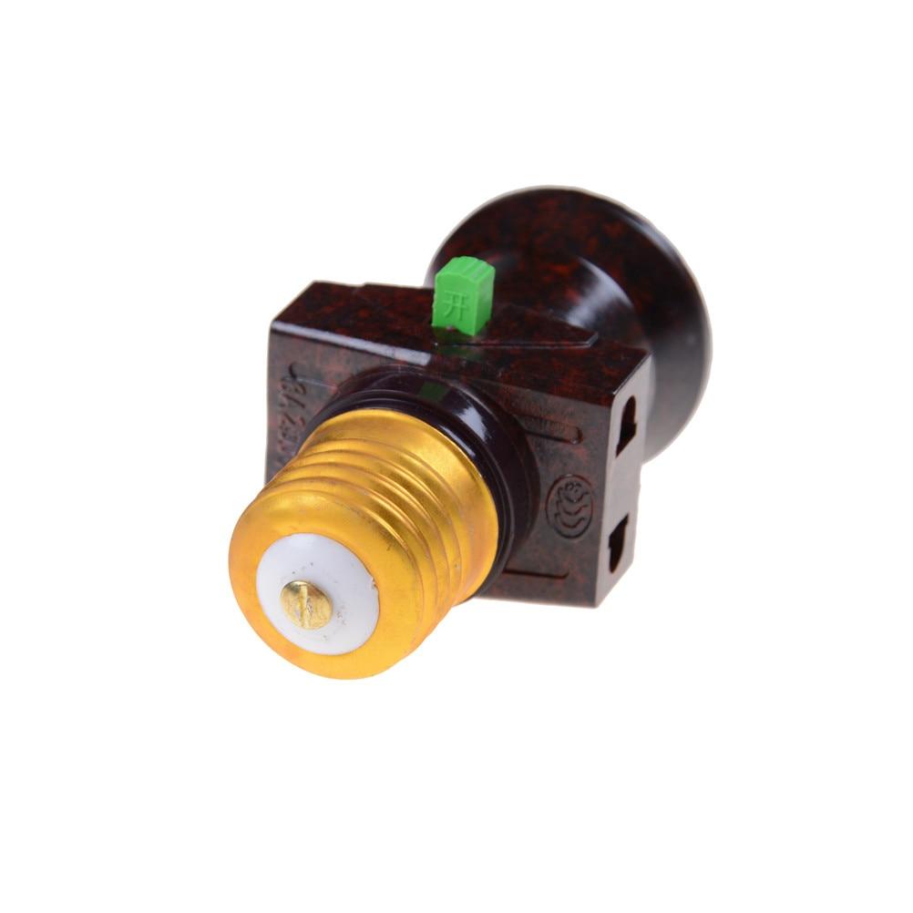 1 pc ac 111 v 240 v led e27 base da lâmpada interruptor soquete do vintage novo pingente suporte da lâmpada e27 suporte da lâmpada