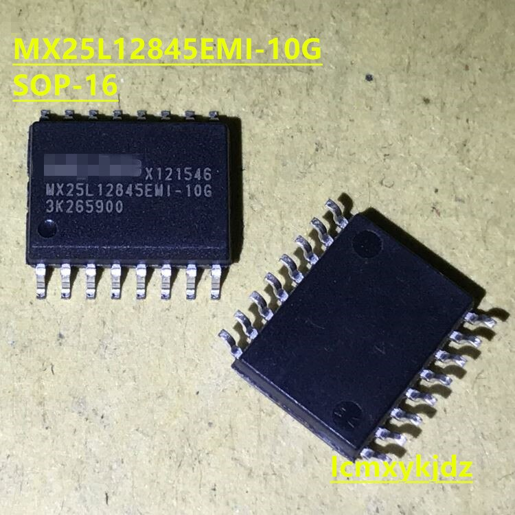 1 unids/lote, MX25L12845EMI-10G MX25L12845EMI SOP-16 128M FLASH, nuevo producto Original, entrega rápida