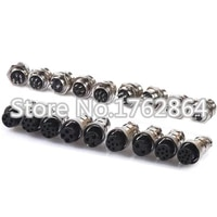 9 pin 16mm gx16 9 screw aviation connector plug the aviation plug cable connector regular plug and socket