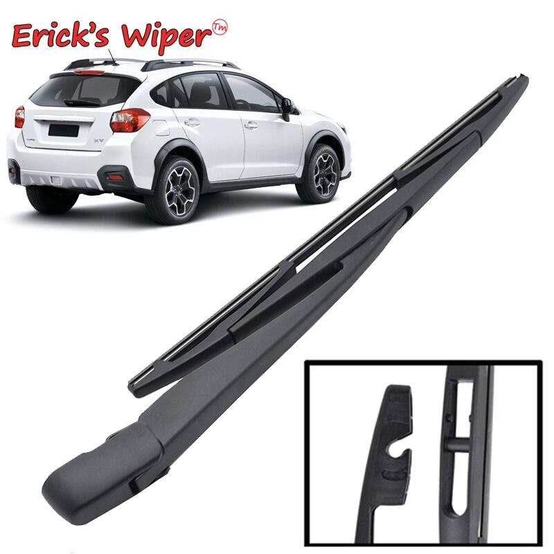 "Erick wiper s limpador 12 ""lâmina de limpador traseiro braço conjunto para subaru xv 2011 2012 2013 2014 2015 2016 2017 pára-brisas janela traseira"