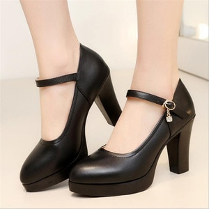 High quality woman Pumps autumn 5-10CM thick heel shoes high-heeled shoe female the trend of ultra high heels female office shoe