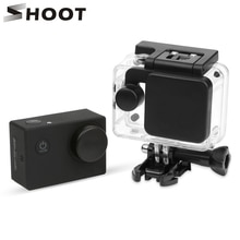 Disparar Cubierta de lente funda carcasa Hood Pro tector Tapa para SJCAM SJ4000 SJ4000 WIFI SJ5000 SJ7 SJ6 SJ8 Pro M10 accesorio para Cámara de Acción