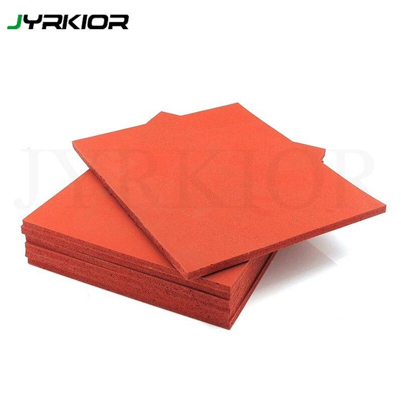 Jyrkior 250*200 мм красный силиконовый резиновый коврик/коврик для телефона LCD сенсорный экран отремонтированный ламинатор и ремонтная Подставка под инструменты Настольный коврик