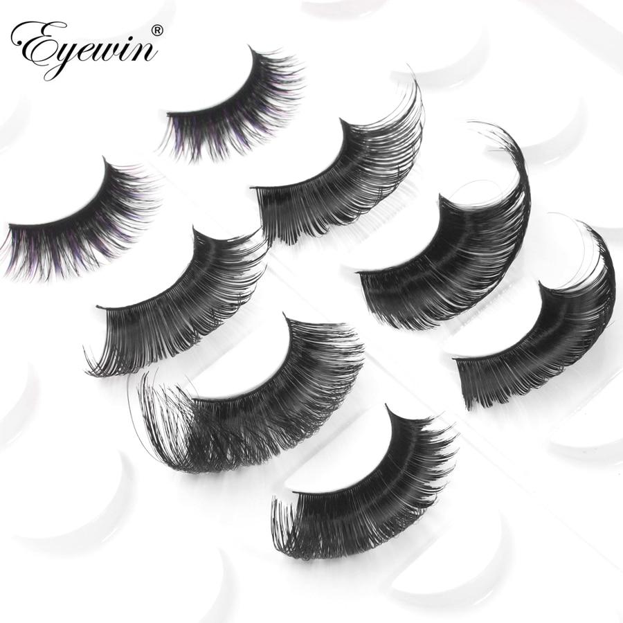 Eyewin cílios postiços para arraste rainha tira completa cílios lash lash maquiagem 3d vison lash crossing cílios dramáticos