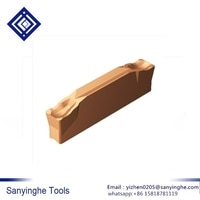10 pcs/lots N123F2-0239-0002-GF 1125 CNC קרביד הכנס להב מחרטה כלי חיתוך כלים