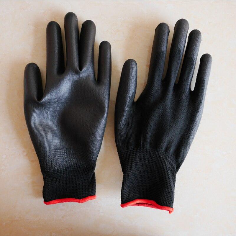 Дышащие рабочие перчатки нейлон окунутые защитные анти масло антифрикционные