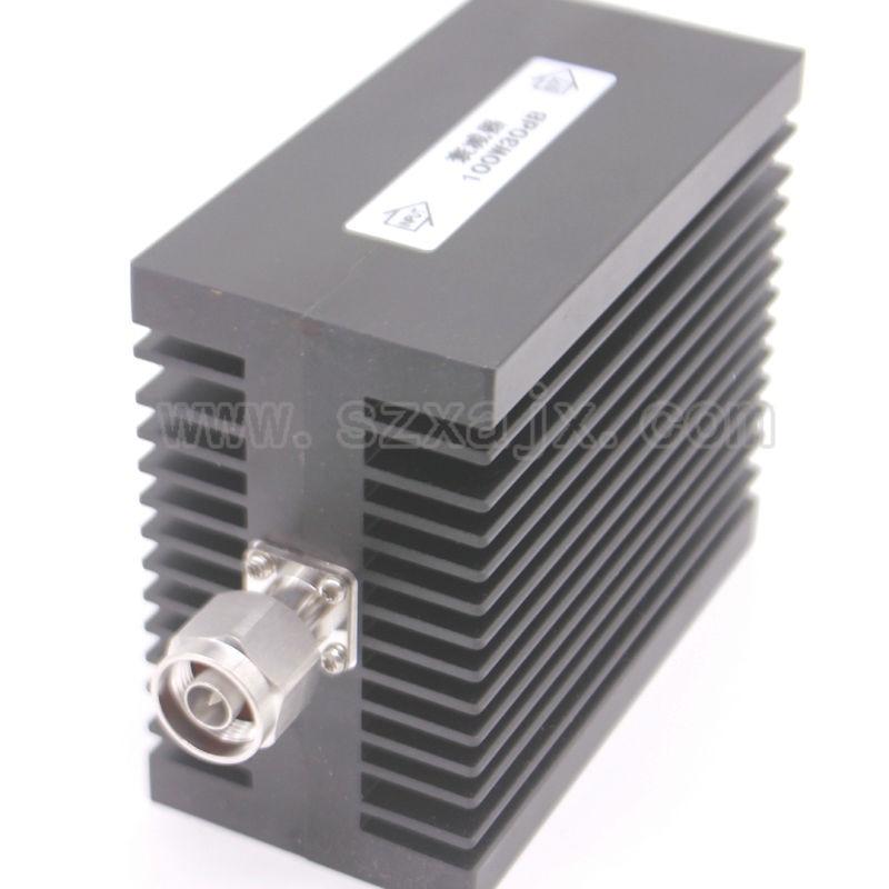 JX عالية الطاقة RF المخفف N الذكور إلى N الإناث 100W DC-3G-XDB(X:30DB) الحرارة المصارف شحن مجاني
