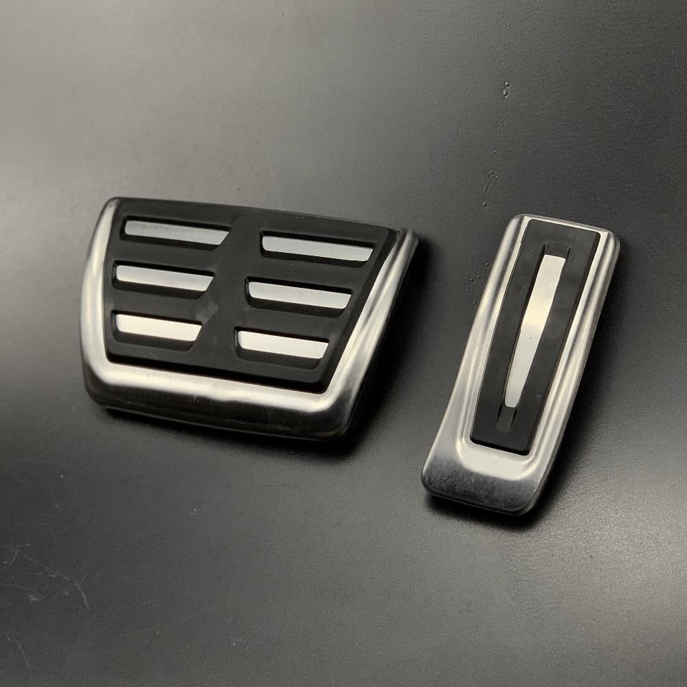 Coche de combustible de Gas Pedal de freno para Audi A4 A4L B8 A5 B8 A6 A6L 2013-2017 A7 Q5 accesorios para piezas Porsche Macan Cayenne RHD