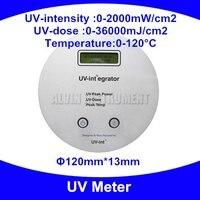 UV Meter UV integrator Radiometer UV tester detector monitor checker UV250- 410nm 0-2000mW/cm2  0-36000mJ/cm2 Free shipping
