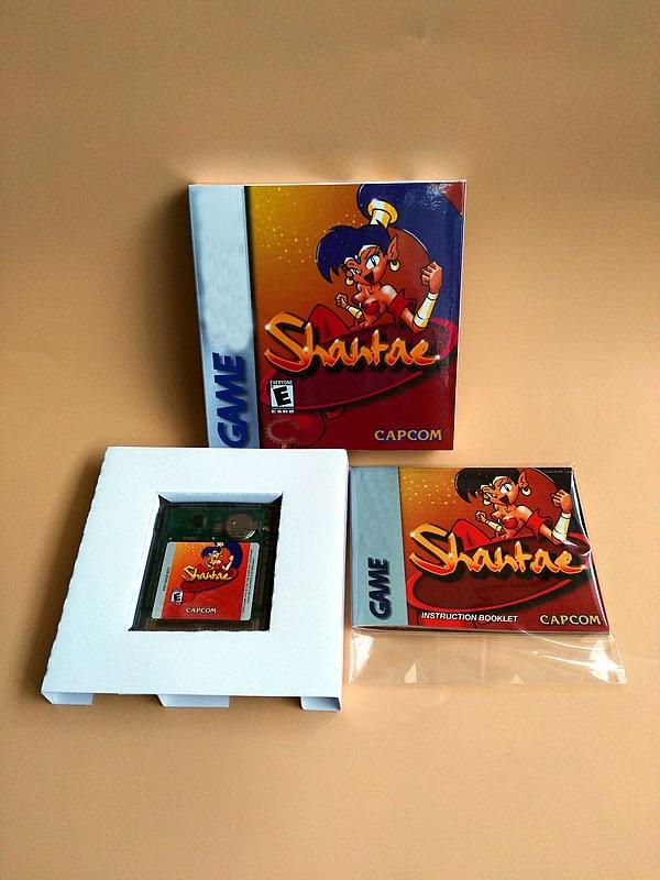 8bit لعبة بطاقة: Shantae (مربع + دليل + خرطوشة!!)