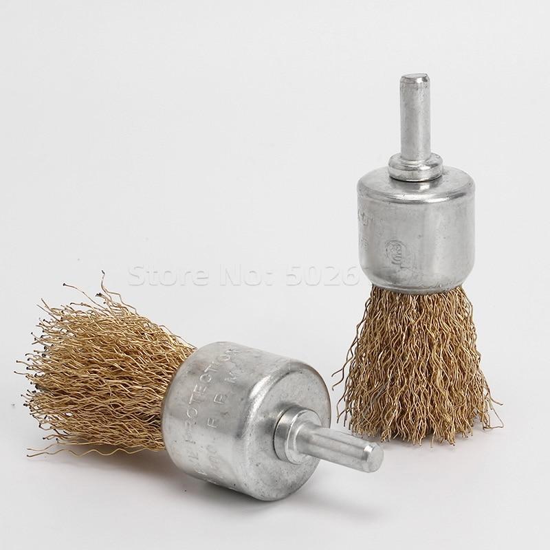 1db professzionális 6 mm-es szár rézbevonat rozsdamentes acél - Csiszolószerszámok - Fénykép 5