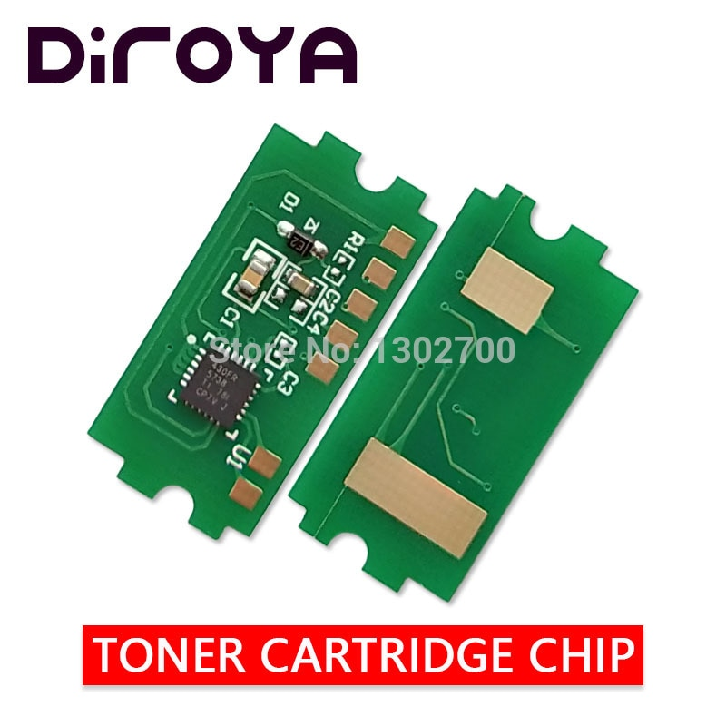 100x TK1170 TK-1170 TK 1170 chip de cartucho de tóner para Kyocera ECOSYS M2040dn M2540dn M2640idw M2040 M2540 M2640 2040dn restablecer EUR
