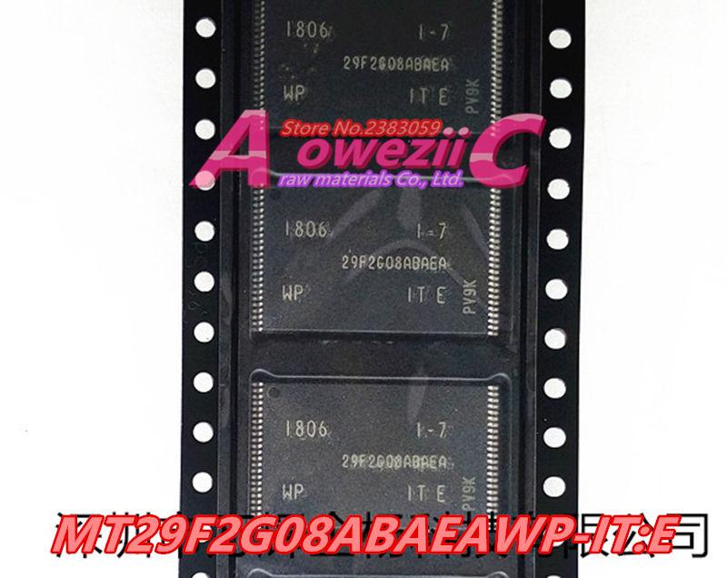 Aoweziic 100% original novo MT29F2G08ABAEAWP-IT E chip de Memória TSOP48 MT29F2G08ABAEAWP-IT E