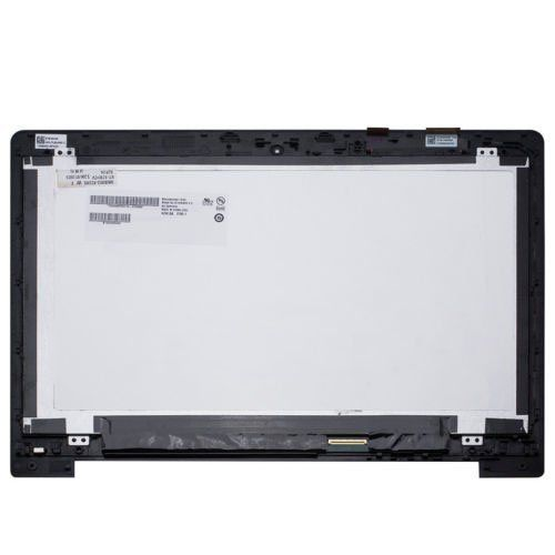 "Para Asus Vivobook S400 S400C S400CA 14 ""Pantalla táctil LCD con marco"