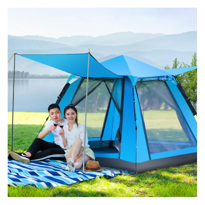 Quick Automatic Opening Outdoor Climbing Camping Camouflage Tent Spring Summer Autumn Tent 210*210*150cm Outdoor Travel tent