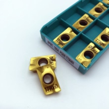 10PCS cutting tool APMT1604 PDER TT9080 high quality inner round metal turning tool carbide insert APMT1604 CNC lathe tool
