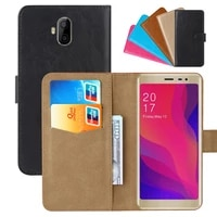 luxury wallet case for allcall rio x pu leather retro flip cover magnetic fashion cases strap