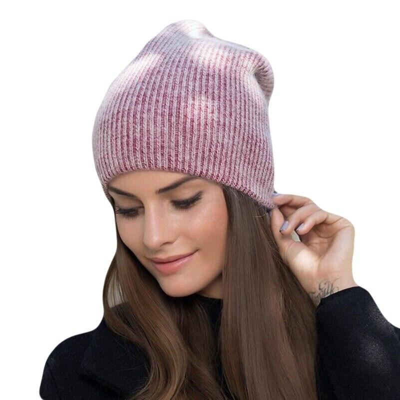 Зимние шапки HANGYUNXUANHAO для женщин теплые шапки из кроличьего меха с напуском для женщин модные шапочки Женские шапки 2019