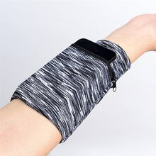 Multifunctional Wrist Band Zipper Ankle Wrap Sport Wrist Strap Wallet Storage &4jj08