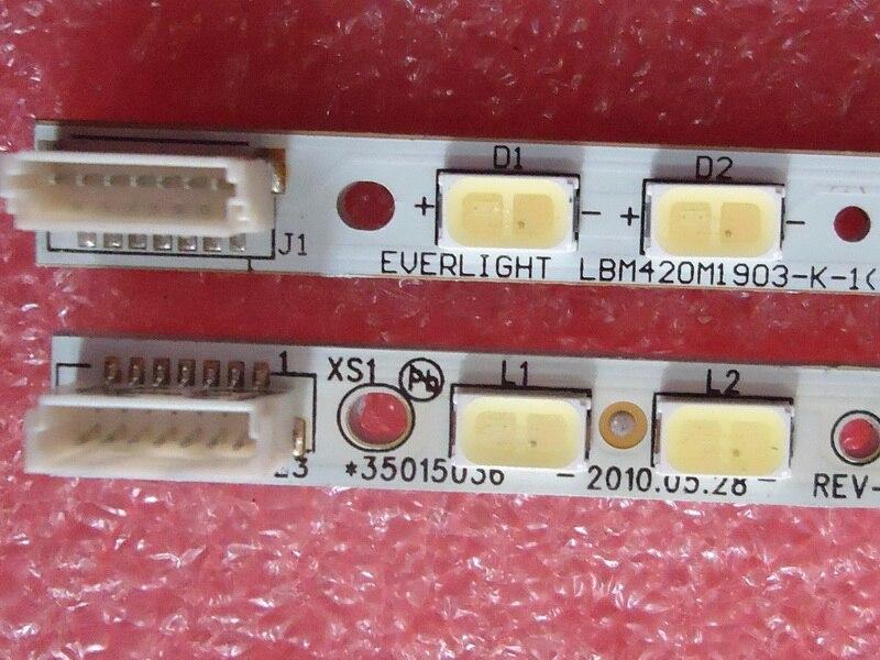 Para konka LED42MS92DC artículo lámpara 484 + M420E110700 37016729 1 pieza = 57LED 476 MM