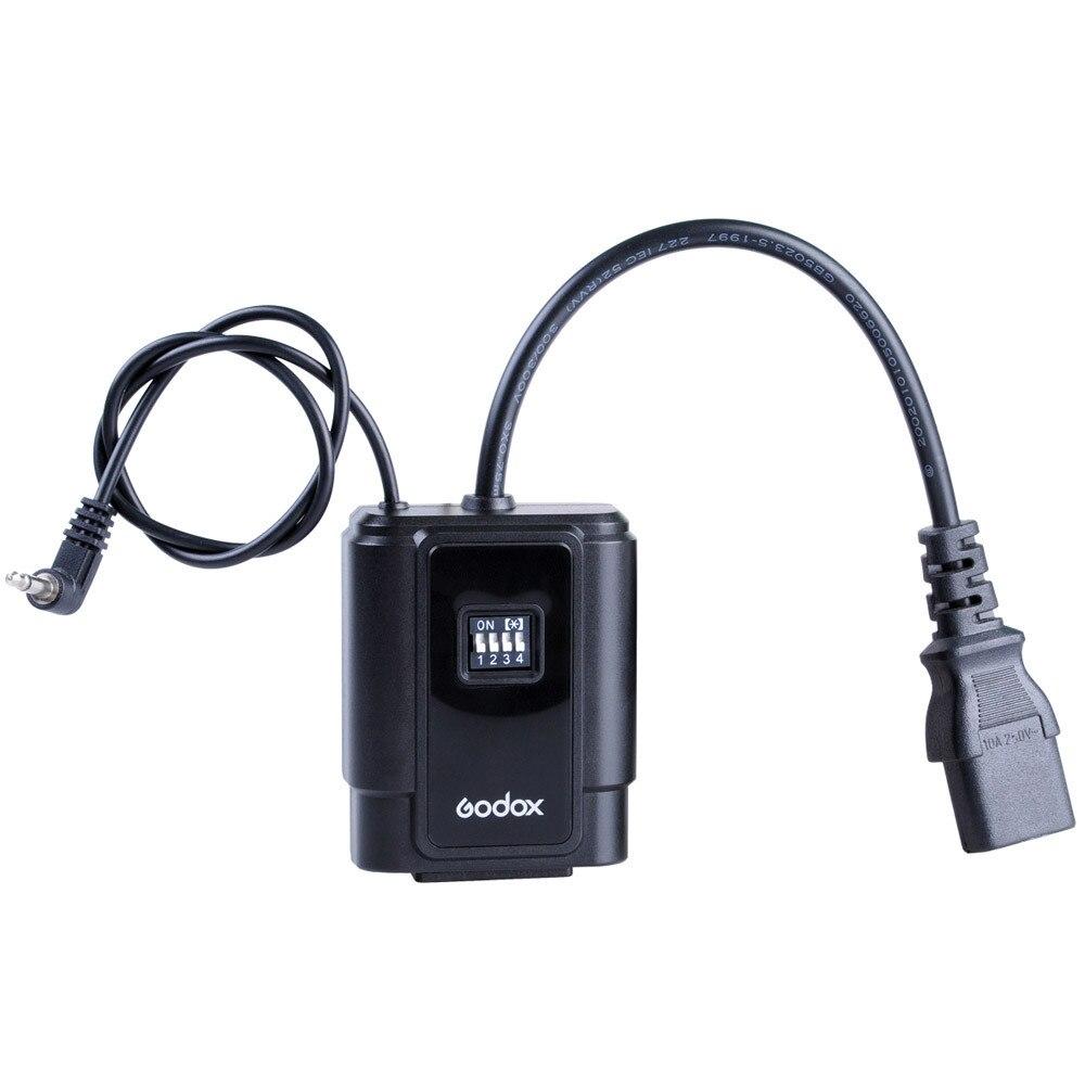 Nuevo DMR-16 Godox, receptor de Flash inalámbrico para estudio profesional, 16 canales, disparador de flash compatible con Godox DM-16