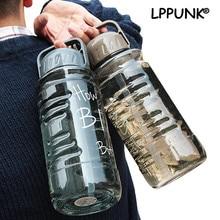 Bouilloire de sport en plastique sans Bpa   1500ml grande capacité en plastique, espace créatif et portable voyage équipé My Water paille bouteille