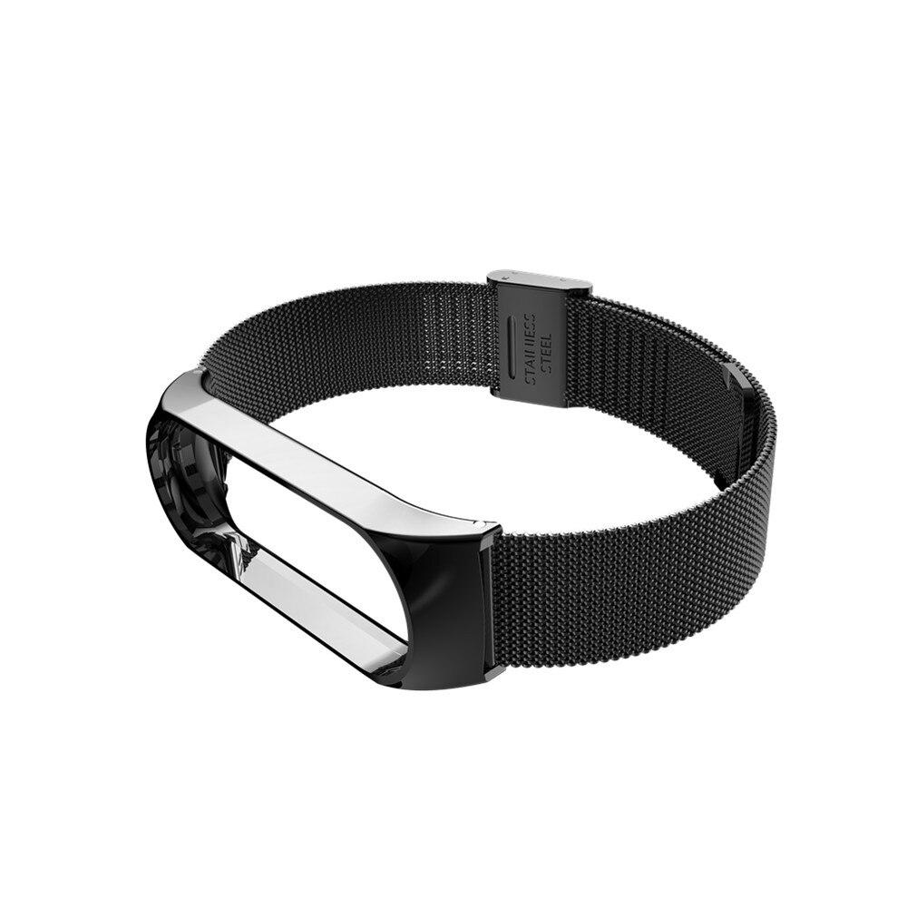 Mi band 6 3 4 5 Strap Metal for Xiaomi Mi Band 5 4 3 Bracelet Screwless Xiaomi Mi Band 4 Bracelet Correa Xiomi MiBand Wrist Band