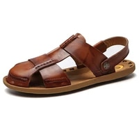 2020 new summer shoes men beach sandals hollow slippers flip flops light sandalias for male outdoor summer flats