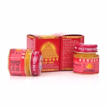 2 bouteilles/lot Vietnam or tour baume onguent actif arthrite soulagement de la douleur Patch baume du tigre corps Massage & Relaxation crème