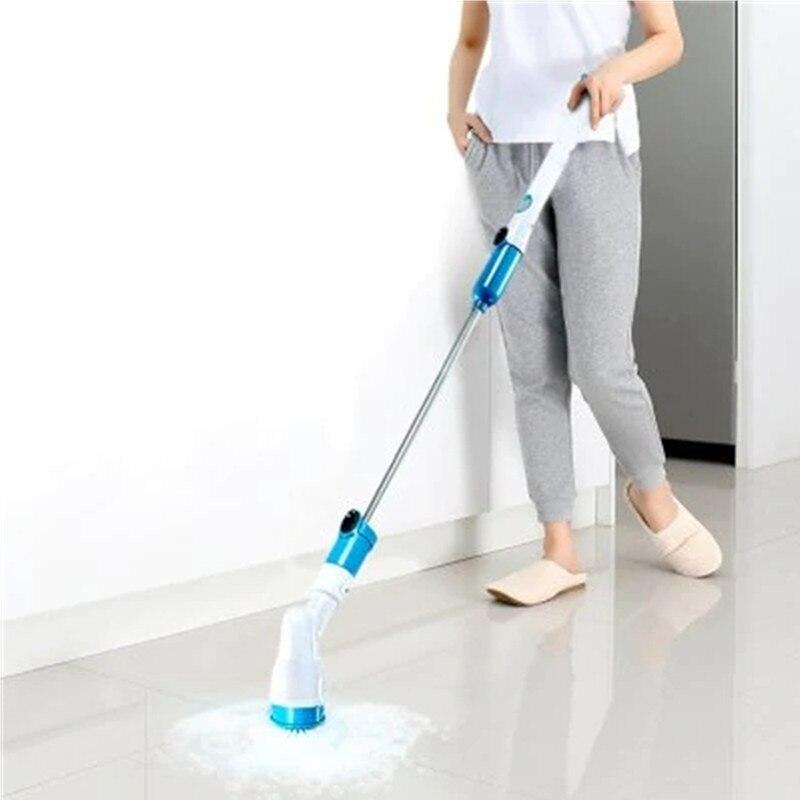 Perceuse électrique sans fil   Ensemble de brosses rotatives pour nettoyer, kit de salle de bains, brosses de nettoyage ménagers