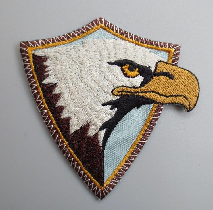Патчи с вышивкой в виде американского Орла ястреба, байкерские патчи для куртки, спины, байкеров, мотоциклетных клубов, 7,2 см * 6,4 см