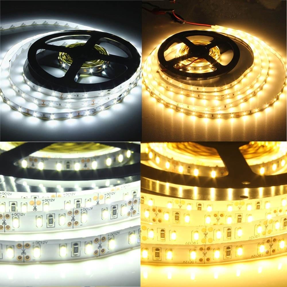 LED strip light DC12V 5630 5m/roll 300led 5730 flexible bar light Non-waterproof /Waterproof indoor home decoration light