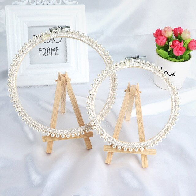 1 pc Girl Desktop Earrings Fashion Storage Lace Earrings Jewelry Photo Display Stand Accessories Ring Jewelry Gift  Storage Tool