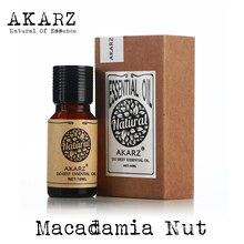 AKARZ Famous brand natural Macadamia nut Essential Oil Anti aging Promote skin metabolism to improve skin Macadamia nut oil