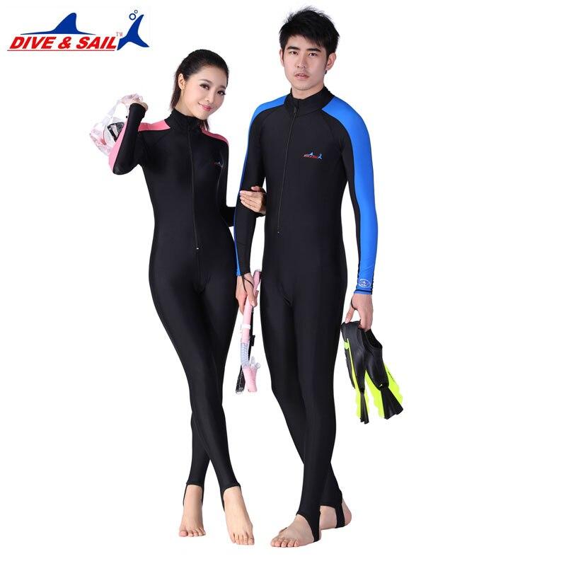 Lycra Buceo pieles para hombre o mujer equipo de buceo deportes de agua mojada saltar trajes mono traje de erupción guardias