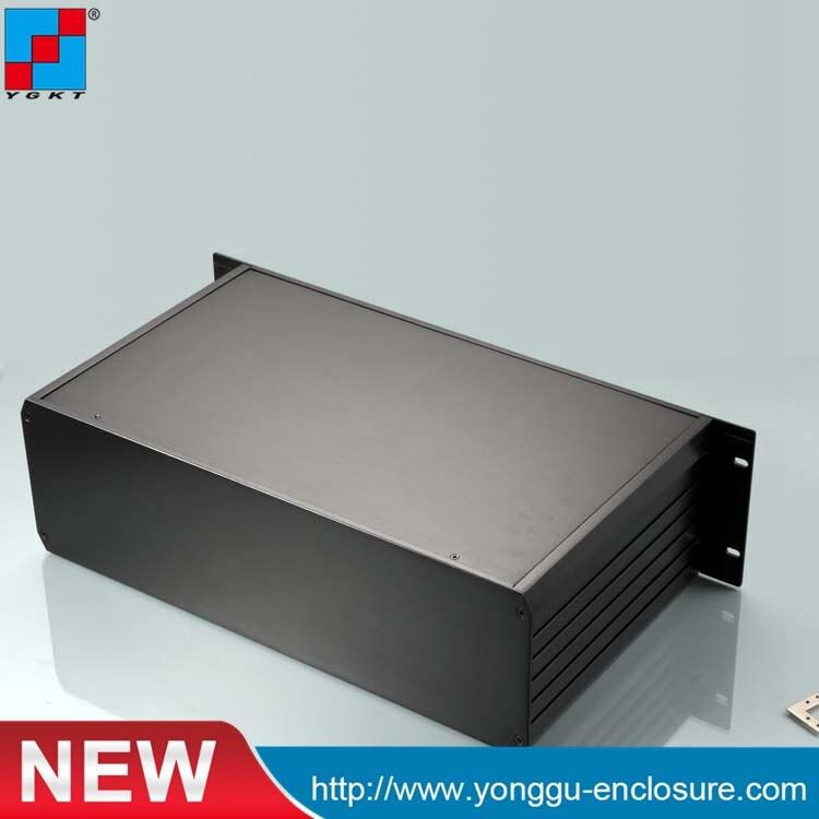 YGH-002-3B 482*133.4*250 مللي متر 19'3U الألومنيوم أداة مربع مسطح مع الاتصالات شبكة المعدات