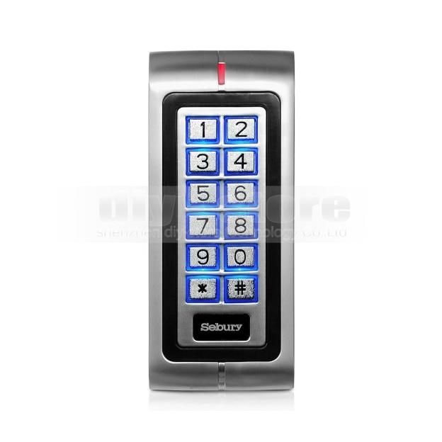 DIYSECUR новый металлический корпус 125 кГц RFID считыватель клавиатуры контроллер