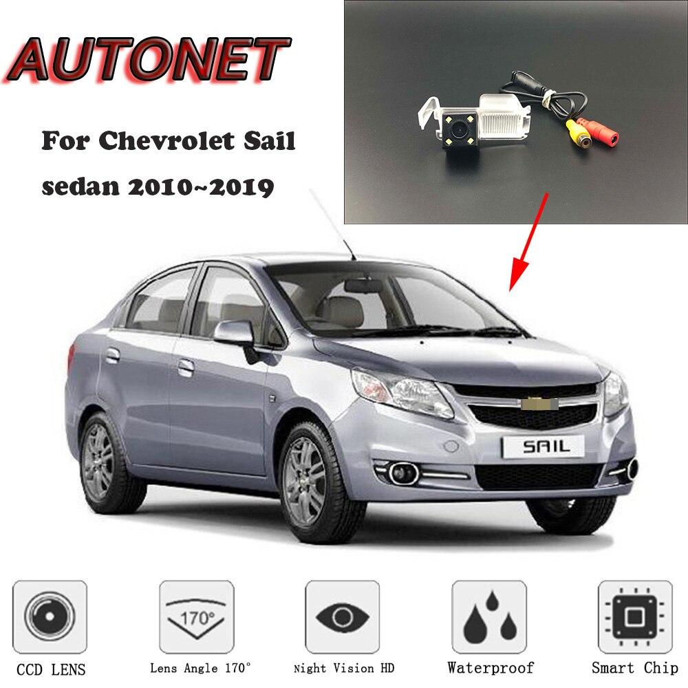 Cámara de visión nocturna HD AUTONET para Chevrolet Sail sedan 2010 ~ 2019 mk2 mk3 CCD/cámara para matrícula