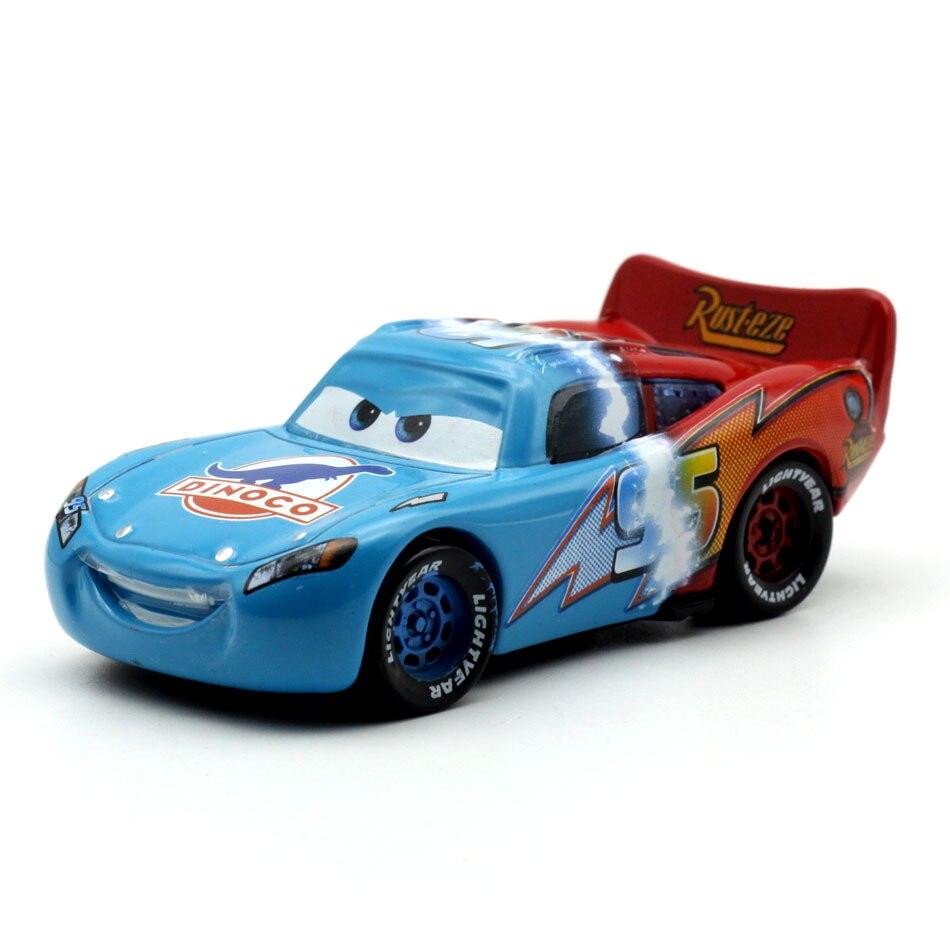 Disney машинок пиксара и гонки с рисунками из мультфильма «Тачки 2 3 игрушки двойной цвет Lightnig Маккуин Mater Ramirez 1:55 литья под давлением игрушки из ...