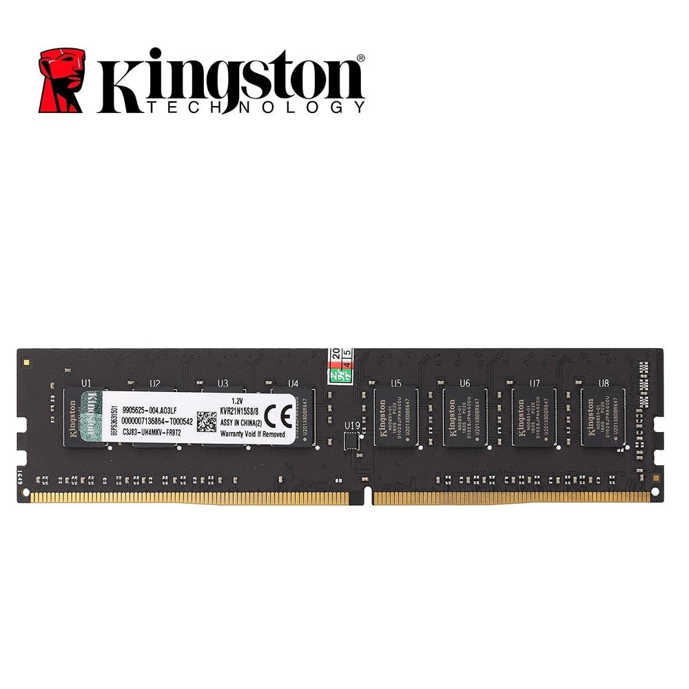 كينغستون الذاكرة RAM DDR4 8G 2133MHz CL15 1.2V 2X8G 288-دبوس PC4-17000 سطح المكتب الذاكرة