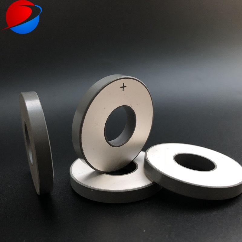Пьезокерамический элемент 50x20x6 5 мм PZT8 кольцо пьезоэлектрическая керамика Детали