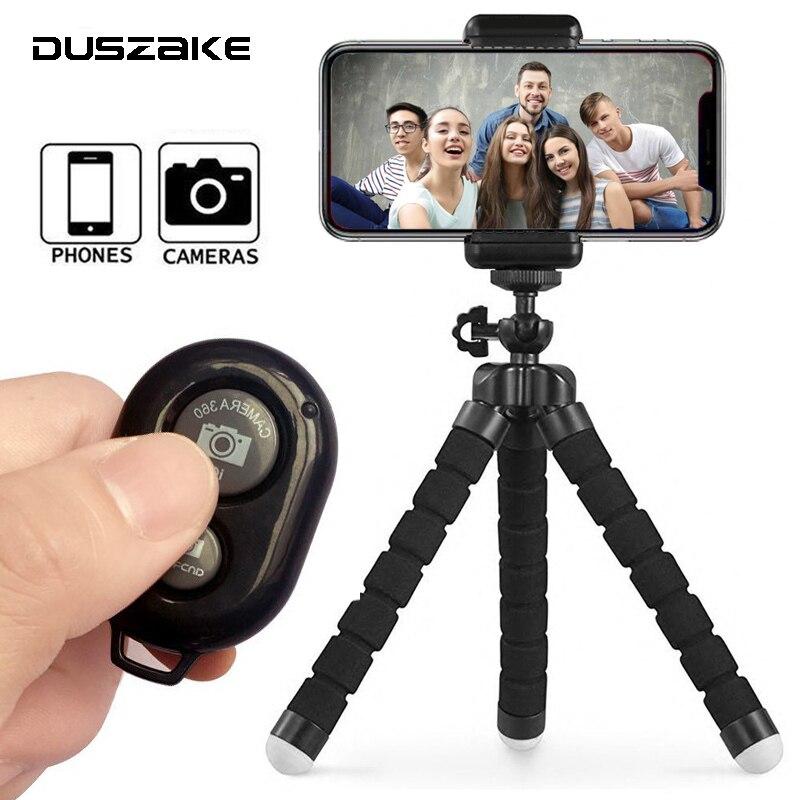 DUSZAKE гибкий мини штатив Gorillapod для телефона Аксессуары для камеры штатив селфи палка для iPhone Samsung Xiaomi Huawei Gopro