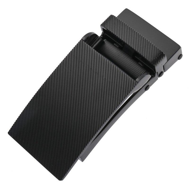 Luxury Business texture Belt Buckle Men's job Leisure Suit Metal Automatic Buckles Jeans Accessories Gift For 3.1cm Belt