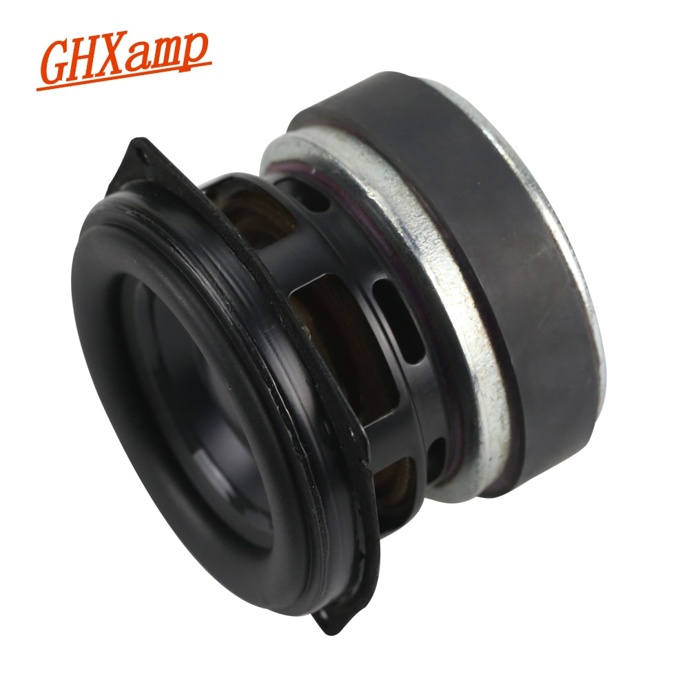 ghxamp 3 inch 3ohm 20w for woofer full range midrange speaker low frequency paper pots neodymium voice coil large stroke GHXAMP 30W 3 inch Subwoofer Full Range BASS Speaker Unit Long-Stroke Portable LoudSpeaker Aluminum Basin Rubber 3Ohm 1PCS