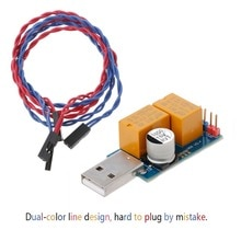 USB De Lordinateur Redémarrage Automatique Écran Bleu Jeu Minier Serveur BTC Miner