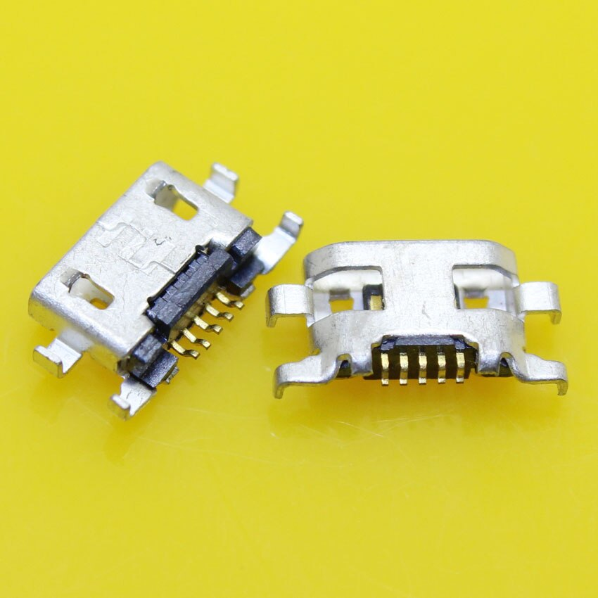 Cltgxdd micro usb jack 5 p fêmea conector de soquete 5 pinos porta carregamento do telefone para nokia lumia 625 1320