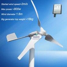 Éolienne 600w MAX 800w 600w   Contrôleur de charge au vent w, bon marché, chine