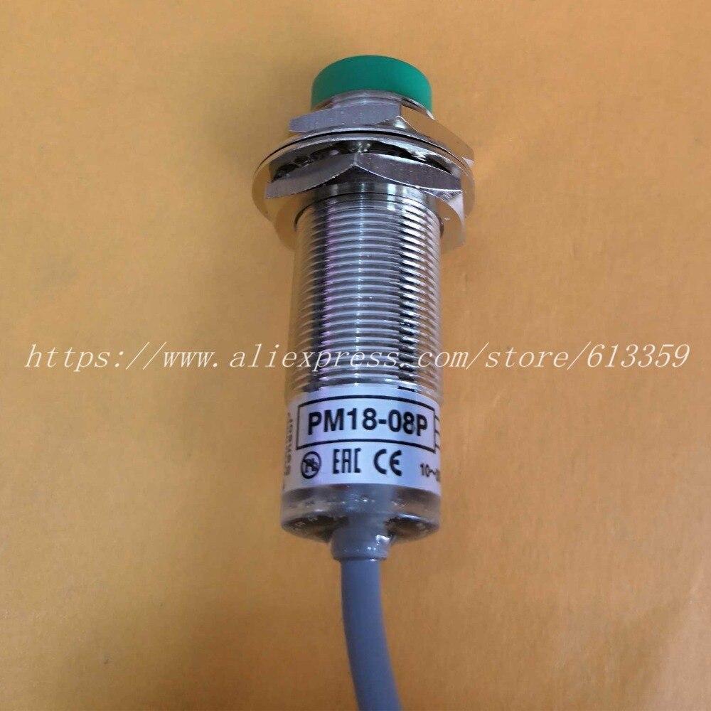 PM18-08P PM18-08N  PM18-08S PM18-08NB PM18-08N-S Sensing 8mm Cable 2m  FOTEK Proximity Switch Sensor 100%  Original & New